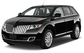 Black Lincoln Town Car Transportation Service
